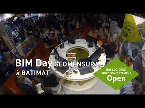 BIM day GEOMENSURA - BATIMAT 2015