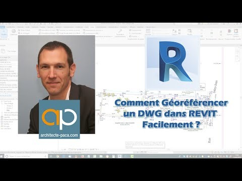 Géoréférencer un projet REVIT avec DWG de géomètre