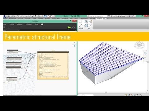 Créer des ossatures parametriques avec Dynamo