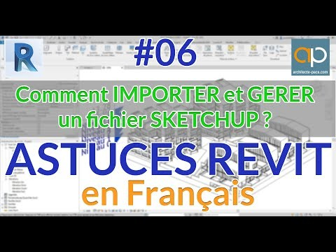 IMPORT Sketchup in REVIT file for project creation
