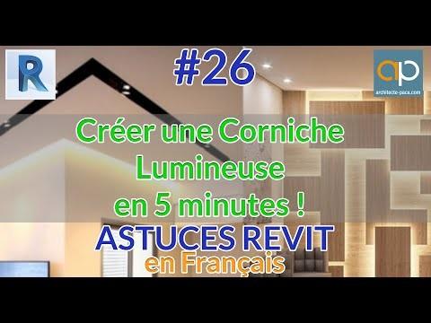 Créer une corniche lumineuse paramétrique en 5 minutes